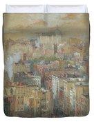 View Of New York City Duvet Cover