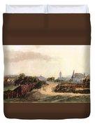 View Of Nuremberg 1497 Duvet Cover