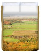 View Of Ottawa Valley In Autumn 13 Duvet Cover
