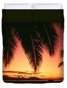View Of Tahiti Duvet Cover