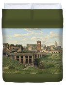 View Of The Cloaca Maxima - Rome Duvet Cover