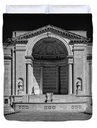 View  Of The Memorial Amphitheater At Arlington Cemetery  Duvet Cover