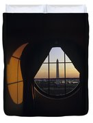 View Of The Washington Monument Duvet Cover