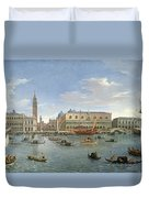 View Of Venice From The Island Of San Giorgio Duvet Cover