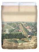View Of Washington Dc Duvet Cover