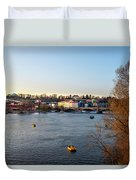 View On A River Duvet Cover