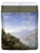 View On The Rhine Duvet Cover