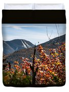 View On The Way Up Mt. Jo, Adirondacks Duvet Cover