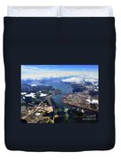 View Over Lasalle Montreal Duvet Cover
