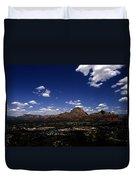 View Overlooking Sedona, Arizona Duvet Cover