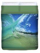 View Through Wave Duvet Cover