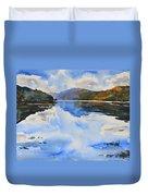 View Towards Skye Duvet Cover