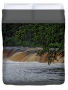 Viewing Tahquamenon Lower Falls Upper Peninsula Michigan 02 Duvet Cover