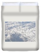 Views From The Sky Duvet Cover