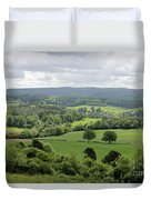 View Of The Surrey Hills From Newlands Corner Duvet Cover