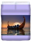 Viking Boat Duvet Cover