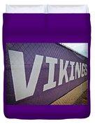 Vikings Banner Duvet Cover