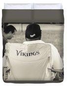Vikings Fan Duvet Cover