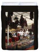 Viktualienmarkt - Munich Duvet Cover