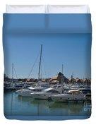 Vilamoura Marina 5 Duvet Cover