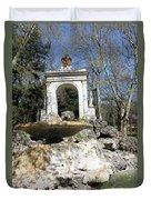 Villa Borghese River Duvet Cover