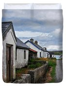 Village By The Sea Duvet Cover