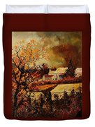 Village Curfoz Duvet Cover