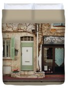 French Village Doors Duvet Cover