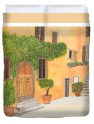 Village In Tuscany N. 4 - Duvet Cover