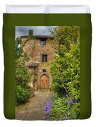 Village Lane Duvet Cover
