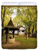 Village Museum Duvet Cover