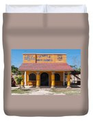 Village Of Coba Duvet Cover