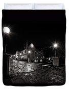 Village Walk Duvet Cover by CJ Schmit
