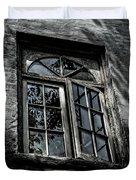 Village Window Duvet Cover
