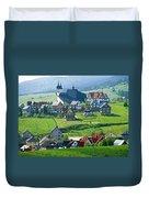 Village Duvet Cover