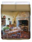 Villandry, Loire, France, Kitchen Duvet Cover