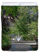 Villanova Fountain Duvet Cover