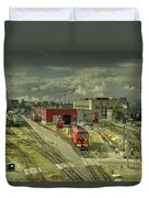 Vilnius Depot  Duvet Cover
