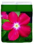Vinca Flower Duvet Cover