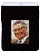 Vince Lombardi Green Bay Packers Mosaic Duvet Cover