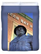 Vince Lombardi Duvet Cover by Joel Witmeyer