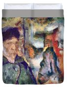 Vincent And Lalo-take 1 Duvet Cover