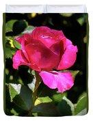 Vincent Red Rose Duvet Cover