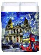 Vincent Van Gogh London Duvet Cover