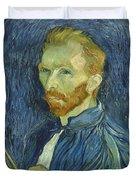 Vincent Van Gogh Self-portrait 1889 Duvet Cover