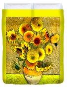 Vincent's Sunflowers Duvet Cover