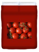 Vine Ripe Tomatoes Fine Art Food Photography Duvet Cover