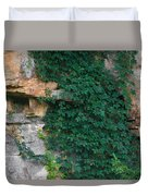 Vines On The Rocks Duvet Cover