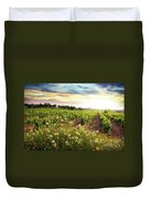 Vineyard Duvet Cover by Carlos Caetano