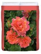 Vineyard Flowers  Duvet Cover
